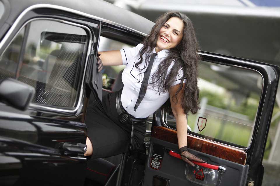 Liveband - Sängerin Natalie Moon - London Taxi