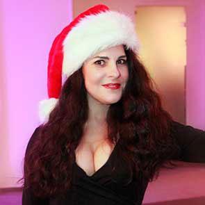 Sängerin Weihnachten 2015
